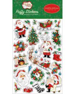 Dear Santa Puffy Stickers - Carta Bella