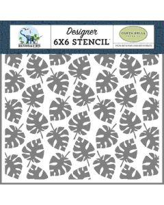 Dino Palm Stencil - Dinosaurs - Carta Bella