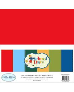 School Days Solids Kit - Carta Bella*