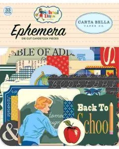 School Days Ephemera - Carta Bella*