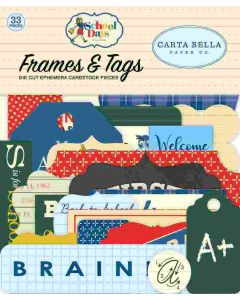 School Days Frames & Tags - Carta Bella*