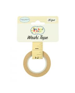 Ruler Washi Tape - School Days - Carta Bella*