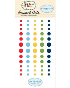 School Days Enamel Dots - School Days - Carta Bella*
