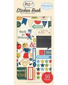 School Days Sticker Book - Carta Bella*