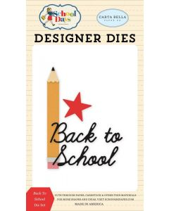 Back To School Die Set - School Days - Carta Bella*