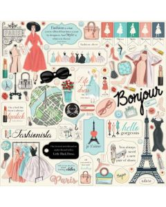 En Vogue Element Stickers - Carta Bella