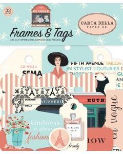 En Vogue Frames & Tags - Carta Bella