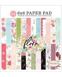 """Flora no. 3 6"""" x 6"""" Paper Pad - Carta Bella*"""