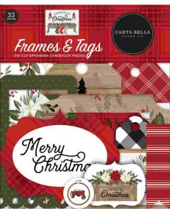 Farmhouse Christmas Frames & Tags - Carta Bella