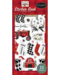 Farmhouse Christmas Sticker Book - Carta Bella