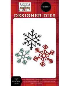 Joyful Snowflakes Dies - Farmhouse Christmas - Carta Bella