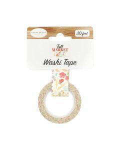 Fall Floral Washi Tape - Fall Market - Carta Bella