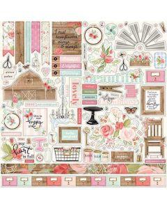 Farmhouse Market Element Sticker - Jen Allyson - Carta Bella*