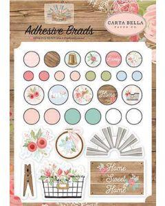 Farmhouse Market Adhesive Brads - Jen Allyson - Carta Bella*