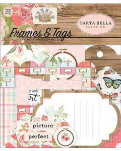 Farmhouse Market Frames & Tags - Jen Allyson - Carta Bella*