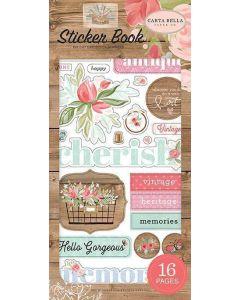 Farmhouse Market Sticker Book - Jen Allyson - Carta Bella*