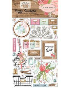 Farmhouse Market Puffy Stickers - Jen Allyson - Carta Bella*