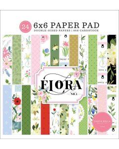 """Flora No. 4 6"""" x 6"""" Paper Pad - Carta Bella"""