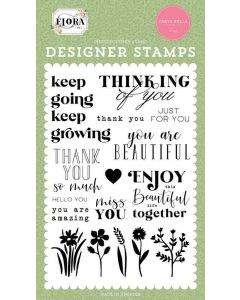 Keep Going Stamps - Flora No. 4 - Carta Bella