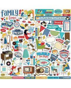 Family Night Element Sticker - Steven Duncan - Carta Bella
