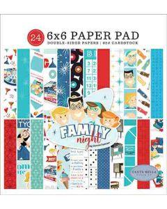 "Family Night 6"" x 6"" Paper Pad - Steven Duncan - Carta Bella*"