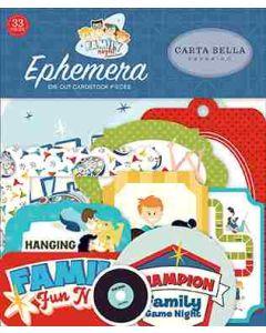 Family Night Ephemera - Steven Duncan - Carta Bella*