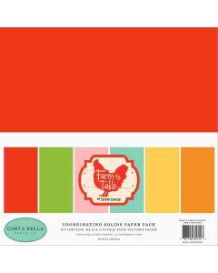 Farm To Table Solids Kit - Carta Bella