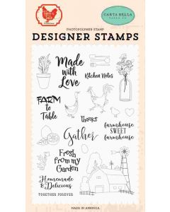 Gather Stamps - Farm To Table - Carta Bella