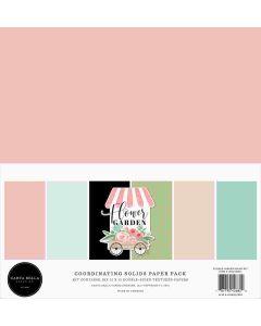 Flower Garden Solids Kit - Carta Bella