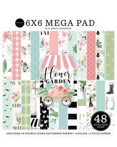 Flower Garden Cardmakers Mega Pad - Carta Bella