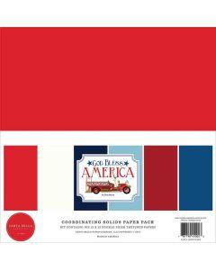 God Bless America Solids Kit - Carta Bella