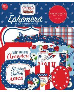 God Bless America Ephemera - Carta Bella