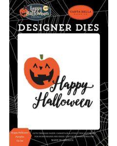 Happy Halloween Pumpkin Die Set - Carta Bella