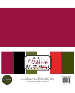 Hello Christmas Solids Kit - Carta Bella