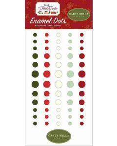 Hello Christmas Enamel Dots - Carta Bella
