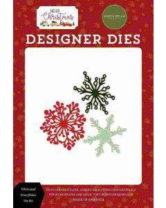 Whimsical Snowflakes Dies - Hello Christmas - Carta Bella