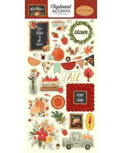 Hello Autumn Chipboard Accents - Carta Bella