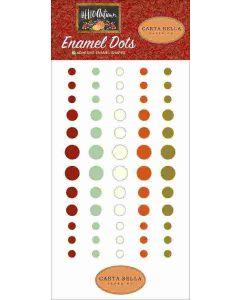 Hello Autumn Enamel Dots - Carta Bella