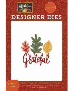 Grateful Leaves Dies - Hello Autumn - Carta Bella