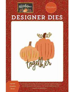 Together Pumpkins Dies - Hello Autumn - Carta Bella