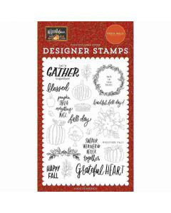 Fall Day Stamps - Hello Autumn - Carta Bella