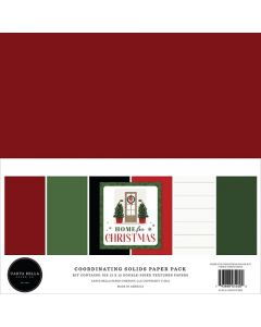 Home For Christmas Solids Kit - Carta Bella