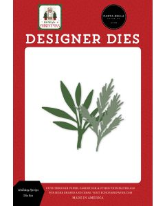 Holiday Sprigs Dies - Home For Christmas - Carta Bella