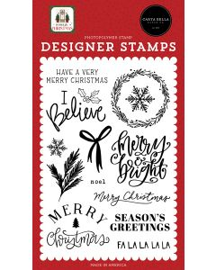 I Believe Stamps - Home For Christmas - Carta Bella