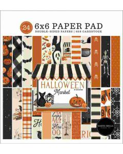 "Halloween Market 6"" x 6"" Paper Pad - Carta Bella"