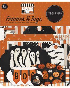 Halloween Market Frames & Tags - Carta Bella