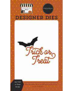 Bat Trick or Treat Dies - Halloween Market - Carta Bella