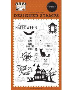 Haunted Night Stamps - Halloween Market - Carta Bella