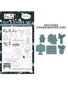 Gather Together Die & Stamp Set - Home Again - Carta Bella