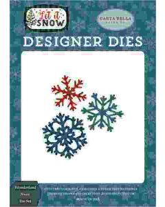 Wonderland Snow Die Set